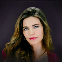 Victoria Newman played by Amelia Heinle