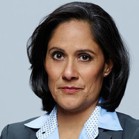 Denise Christopher played by Sakina Jaffrey