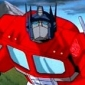 Optimus Prime played by Peter Cullen