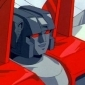 Starscream played by Michael Dobson