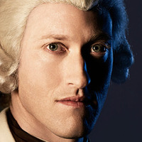 John Graves Simcoe played by Samuel Roukin