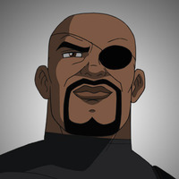 Nick Fury Ultimate Spider-man