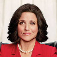 Selina Meyer played by Julia Louis-Dreyfus