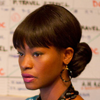 Sue Wilson played by Sufe Bradshaw