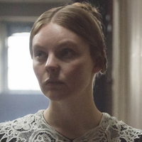 Miss Skerrett played by Nell Hudson
