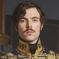 Prince Albertplayed by Tom Hughes