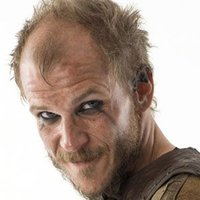 Floki played by Gustaf Skarsgård
