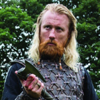 Jarl Borg played by Thorbjørn Harr