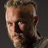 Ragnar Lothbrok played by Travis Fimmel