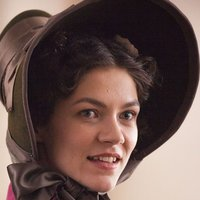 Mademoiselle Bourienne played by Olivia Ross