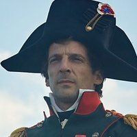 Napoleon Bonaparte played by Mathieu Kassovitz