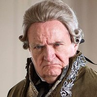 Prince Nikolay Bolkonsky played by Jim Broadbent