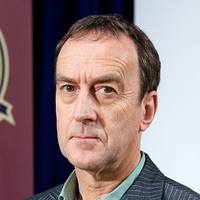 George Windsorplayed by Angus Deayton