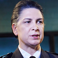 Joan Ferguson played by Pamela Rabe