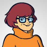 Velma Dinkley played by Mindy Cohn
