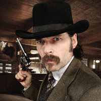 Doc Holliday played by Tim Rozon