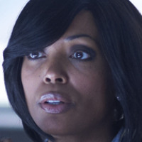 Major Lauren Jones played by Aisha Tyler