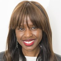 June Sarpong - Presenter played by June Sarpong