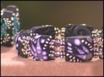 16x50 - Easy Clay Cane Bracelet, Punched Up Punch Art, Filigree Eggs