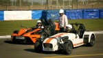 18x06 - Three Stripped Out Track Cars at Donington