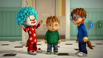Alvinnn!!! and the Chipmunks - 01x08 Clowning Around / Bully for You