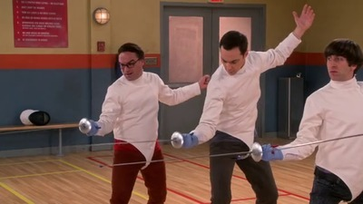 The Big Bang Theory - 09x05 The Perspiration Implementation
