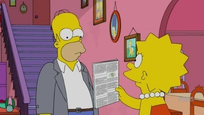 The Simpsons - 27x07 Lisa with an 'S' Screenshot