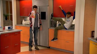 Lab Rats - 01x09 Death Spiral Smackdown