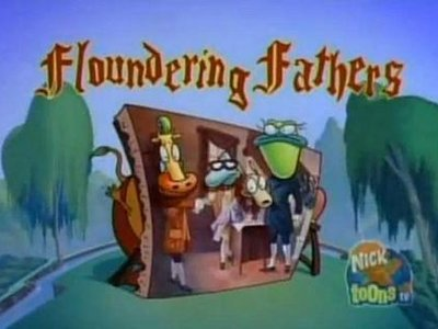 Rocko's Modern Life - 04x26 Floundering Fathers Screenshot