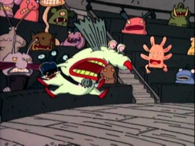 Aaahh!!! Real Monsters - 04x13 Laugh, Krumm, Laugh / Rookie Monsters Screenshot
