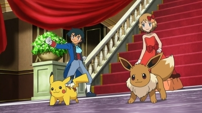 Pokémon - 17x12 Satoshi and Serena! Catch One at the Dance Party!! Screenshot