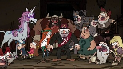 Gravity Falls - 02x20 Weirdmageddon 3: Take Back The Falls Screenshot
