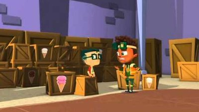 Oh No! It's an Alien Invasion (CA) - 02x14 Sweet Swap / The Belly Bag