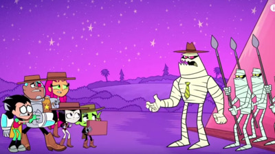 Teen Titans Go! - 03x25  Pyramid Scheme Screenshot