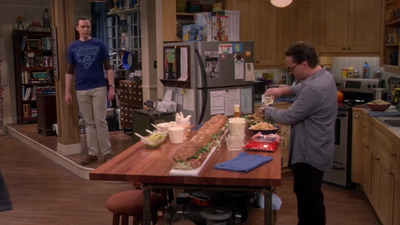 The Big Bang Theory - 09x21 The Viewing Party Combustion