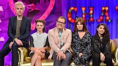 Alan Carr: Chatty Man (UK) - 16x10 Maisie Williams, Anna Friel & Nick Grimshaw Screenshot