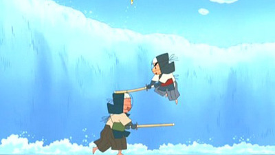 Crayon Shin Chan (JP) - 02x26 The Epicish Battle Comenceth! Screenshot