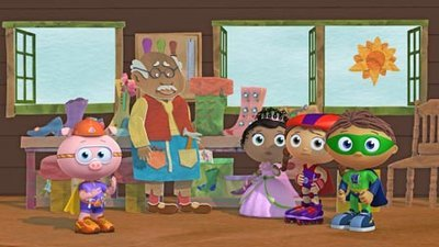 Super WHY! - 01x10 The Elves and The Shoemaker