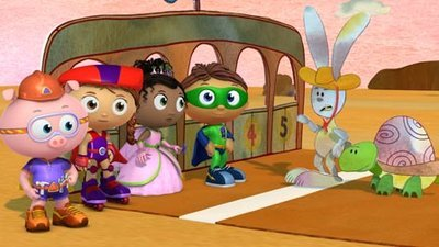 Super WHY! - 01x05 The Tortoise and The Hare