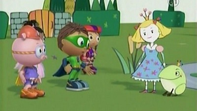 Super WHY! - 01x15 The Frog Prince