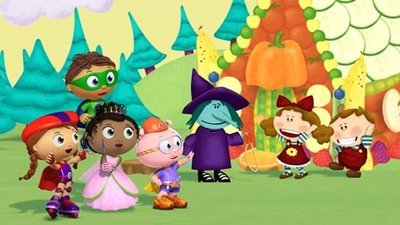 Super WHY! - 01x52 Hansel and Gretel - A Healthy Adventure