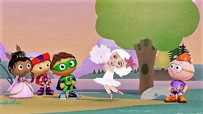 Super WHY! - 01x62 The Swan Maiden