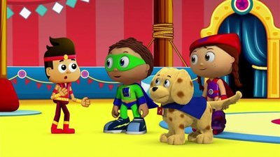 Super WHY! - 03x21 Landon's Circus Adventure Screenshot