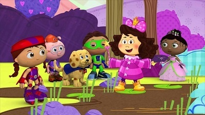 Super WHY! - 03x15 The Princess Who Loved Mud