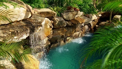 Insane pools off the deep end 2x06 zen the art of pools for Pool show on animal planet