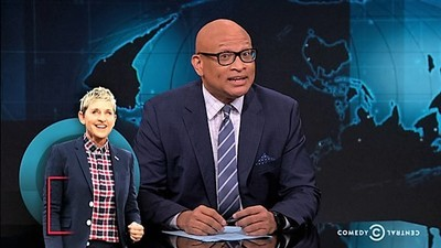 The Nightly Show with Larry Wilmore - 02x147 Jon Stewart Screenshot
