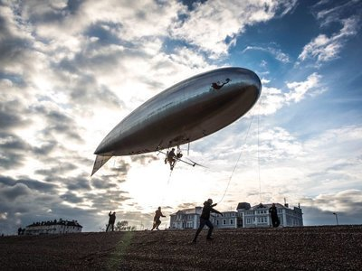 Speed with Guy Martin (UK) - 03x02 Pedal-Powered Airship