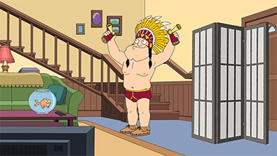 American Dad! - 10x05 Kung Pao Turkey