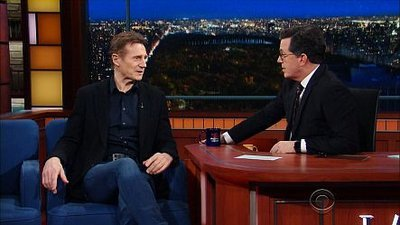 The Late Show with Stephen Colbert - 02x64 Liam Neeson & Shepard Smith Screenshot