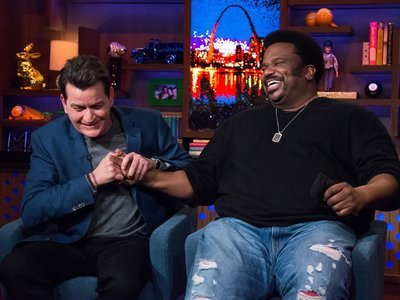 Watch What Happens: Live - 14x07 Charlie Sheen & Craig Robinson